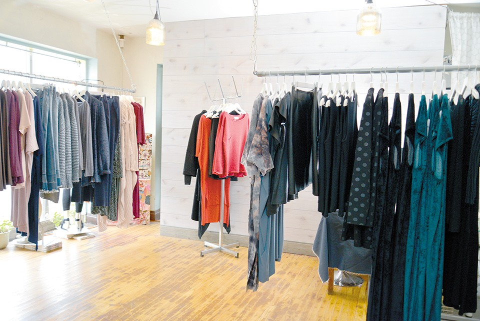 LAUNCH shares space with Skif, the knitwear boutique. - TOM HELLAUER