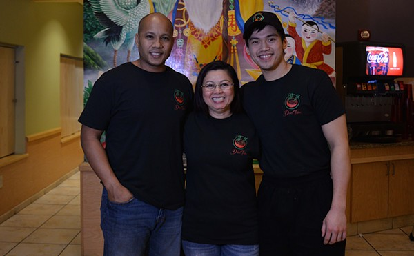 Co-owners Matt Brannon, Diane Bui and Sunny Dinh opened Dao Tien downtown on October 11. - TOM