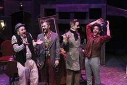 Macheath's gang celebrates his marriage. - JILL RITTER LINDBERG