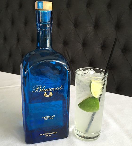 Bluecoat gin makes a great rickey. | Patrick J. Hurley