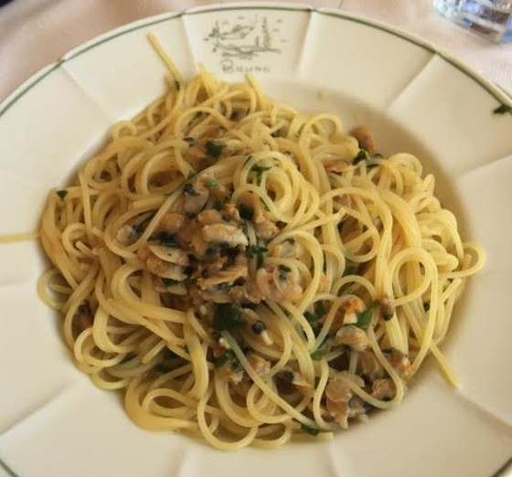 Spaghetti con Arselle. | Compliments of Jim Zimmermsn