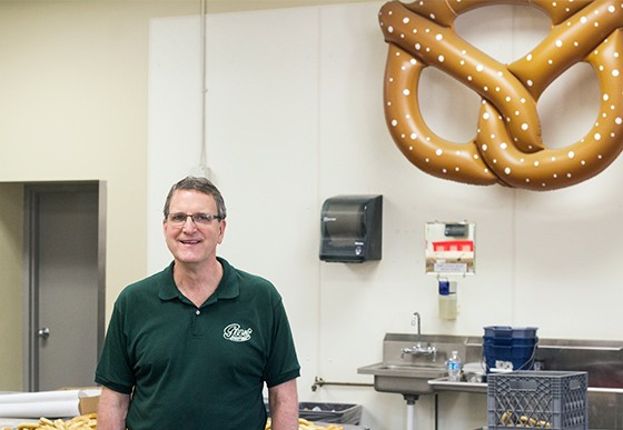 Owner Gus Koebbe Jr., who runs the bakeshop with his wife, Suzanne, and son, Gus Koebbe III.