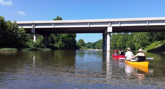 Everyone loves a good float trip, and Governor Jay Nixon is no exception. - FLICKR VIA DOUG WERTMAN