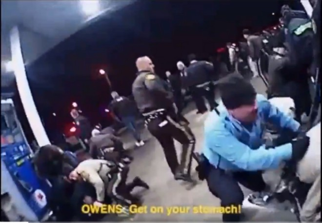 Rep. Bruce Franks Jr. released police body cam footage of his arrest. - BODY CAM VIDEO