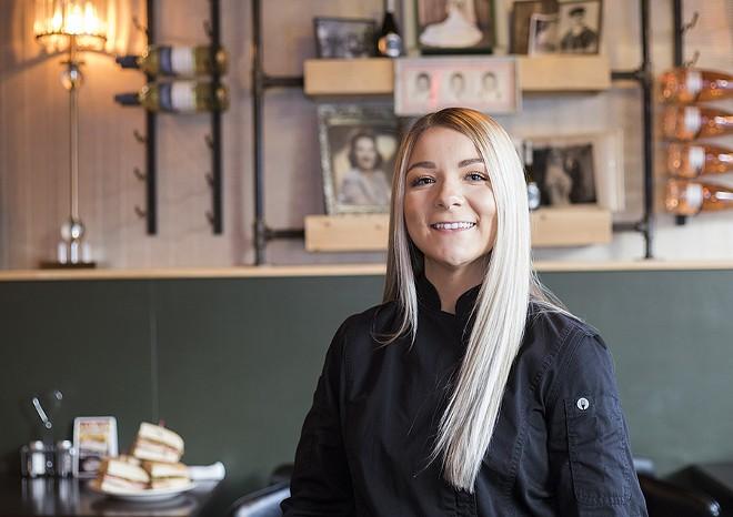 Chef and general manager Tessa LaPlant. - MABEL SUEN