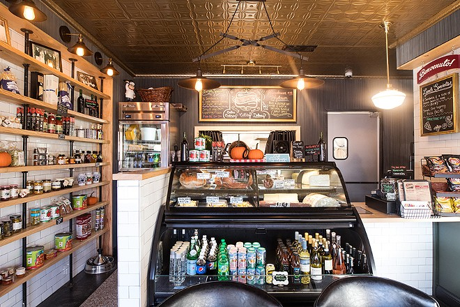 In addition to the restaurant, Anthony's Italian Eats functions as a small Italian grocer. - MABEL SUEN