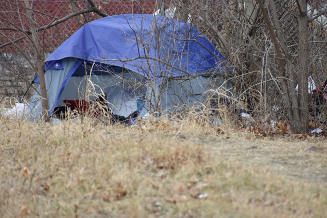 St. Louis' mayor hopes adding beds in a city shelter will cut down on people sleeping outside this winter. - DOYLE MURPHY