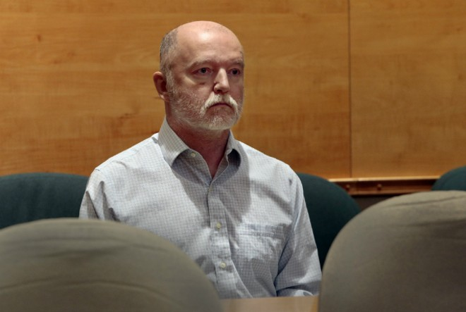 Thomas Bruce appears December 5, 2018 in St. Louis County Court. - ROBERT COHEN/ST. LOUIS POST-DISPATCH VIA POOL