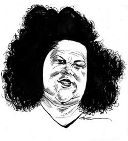 "Emily ""Mt. Fiji"" Dole. - ILLUSTRATION BY GREG HOUSTON"