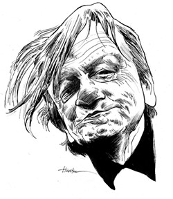 Mark E. Smith. - ILLUSTRATION BY GREG HOUSTON