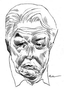 Vladimir Voinovich. - ILLUSTRATION BY GREG HOUSTON