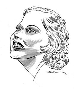 Mary Carlisle. - ILLUSTRATION BY GREG HOUSTON
