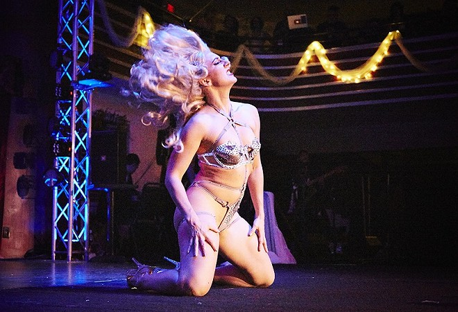 Lola Van Ella's New Year's Eve Spectaculaire is always a hot ticket. - STEVE TRUESDELL