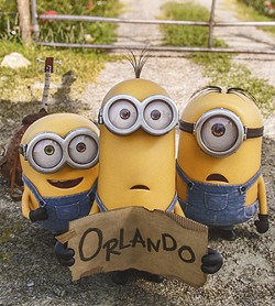 Cutest hitchhikers ever. - COURTESY UNIVERSAL PICTURES AND ILLUMINATION ENTERTAINMENT