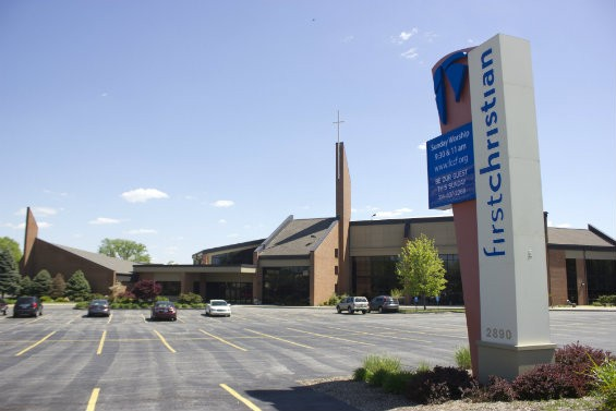 First Christian Church of Florrsiant  occupies a sprawling, $18 million campus. - DANNY WICENTOWSKI