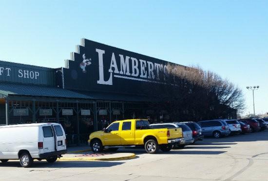 Lambert's Cafe in Ozark, Missouri. - JOHNNY FUGITT
