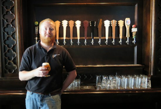 Heavy Riff Co-Owner and Head Brewer Jerid Saffell