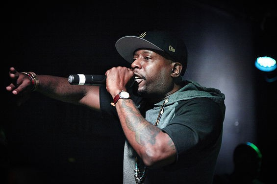 Talib Kweli returns to St. Louis for a free show at Fubar this Sunday. See more photos from last year's #FergusonOctober event in RFT Slideshows. - PHOTO BY STEVE TRUESDELL