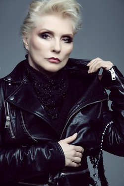 The undeniably photogenic Debbie Harry. - PHOTO BY DANIELLE ST. LAURENT