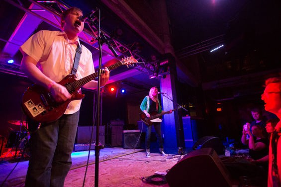 Bunnygrunt celebrates the release of its new record with a show at Off Broadway on Saturday night. See more photos from the band's 20th anniversary in RFT Slideshows. - PHOTO BY THEO WELLING