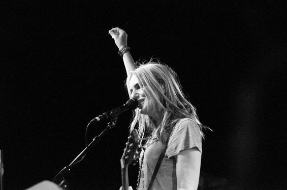Veruca Salt returns to St. Louis this Wednesday at the Ready Room. See more photos from the band's 2014 reunion tour in RFT Slideshows. - PHOTO BY CAROLINE YOO