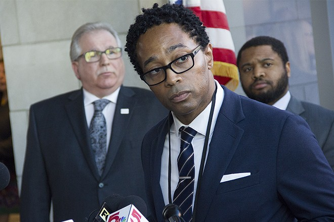 St. Louis County Prosecutor Wesley Bell. - DANNY WICENTOWSKI