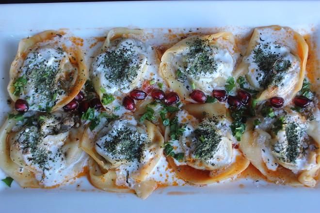Mantu are ravioli popular in Afghanistan and its neighbors. - SARAH FENSKE