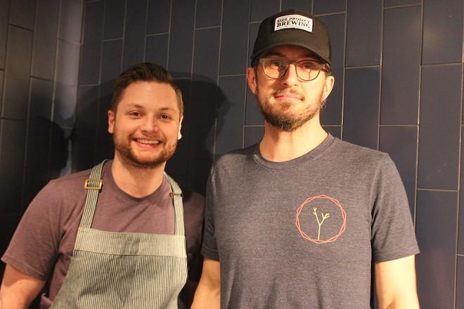 Adam Altnether, left, and Chris Kelling. - SARAH FENSKE