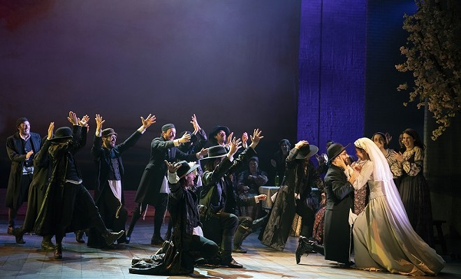 Fiddler on the Roof has everything, including a wedding. - (C) JOAN MARCUS