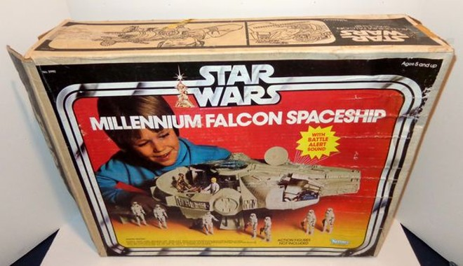 """You've never heard of the Millennium Falcon?"" - ESTATE AUCTION PROS"