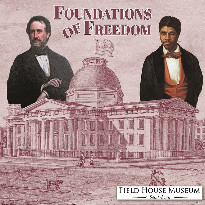Roswell Field represented Dred Scott in his fight for freedom. - COURTESY OF THE FIELD HOUSE MUSEUM