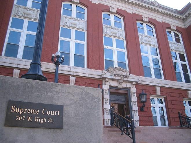 The Missouri Supreme Court building in Jefferson City. - FLICKR/DAVID SHANE