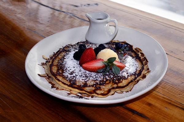 Blueberry Pan-Cake ($9) - CHELSEA NEUING