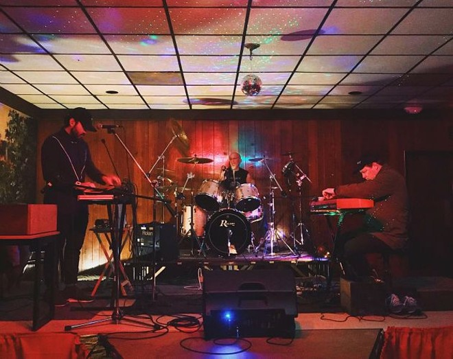 """The release party will go down at Tim's Chrome Bar, which the band describes as a """"time warp."""" - VIA THE BAND"""