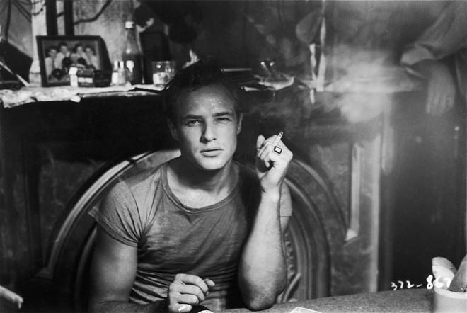 Marlon Brando. - ALAMY COURTESY OF SHOWTIME