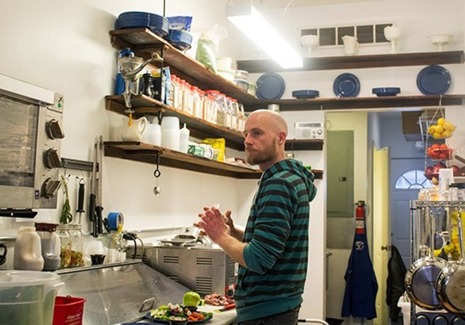 The Little Dipper's chef and owner Jason Paul. - MABEL SUEN