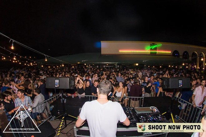 A scene from Pyramid Promotions' Welcome Week Finale event on August 29. - SHOOT NOW PHOTO