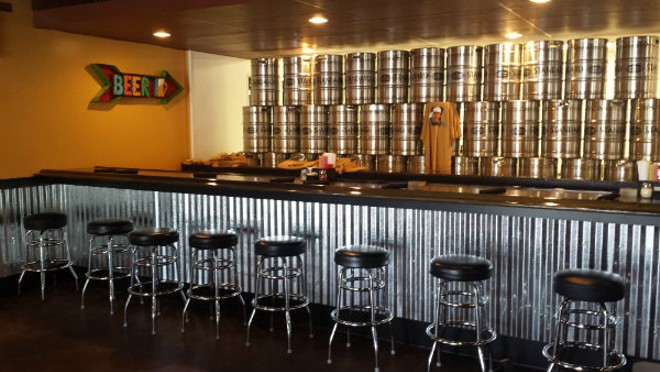 The bar at Standard Brewing. - PHOTO BY SAMANTHA DEVER