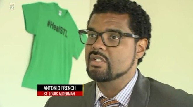 Alderman Antonio French - KTVI (CHANNEL 2)