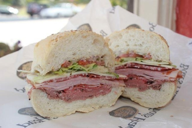 """The Pete"" Italian sandwich. - CHERYL BAEHR"