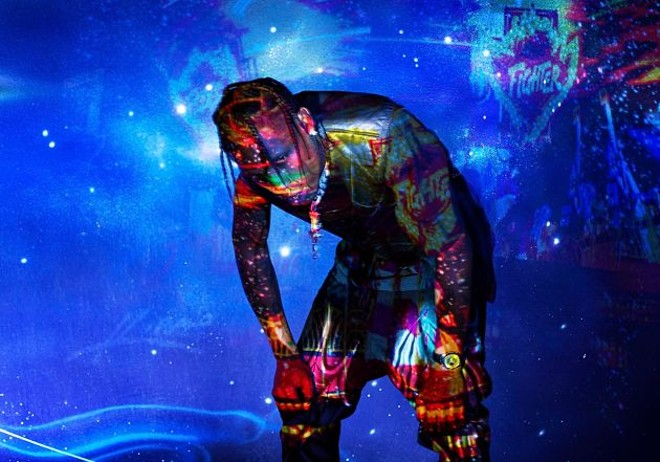 Travis Scott will perform at Enterprise Center on Monday, February 18. - DAVID LACHAPELLE