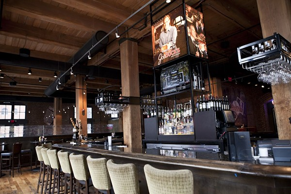 Joe Buck's Restaurant drew downtown sports fans. - IMAGE VIA