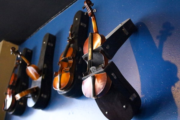Violins give a jazzy vibe. - CHELSEA NEULING