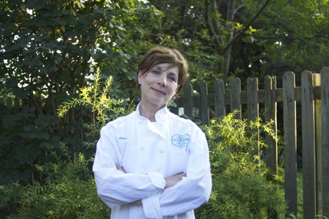 Pastaria's executive pastry chef and the founder of Banner Road Baking Company Anne Croy. - MARK FETTY