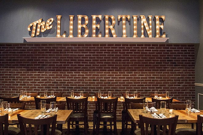 Inside the Libertine. - MABEL SUEN
