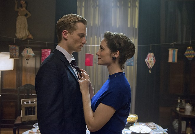 Alexander Fehling and Friederike Becht in Labyrinth of Lies. - HEIKE ULLRICH/COURTESY OF SONY PICTURES CLASSICS