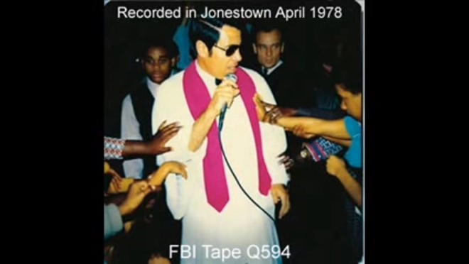 Jonestown FBI tape #Q594, a horrifying recording by Jim Jones and his Peoples Temple cult, obviously comes in at number one on this list.