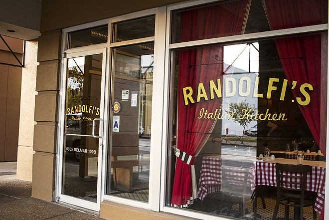 Randolfi's in the Delmar Loop. - MABEL SUEN