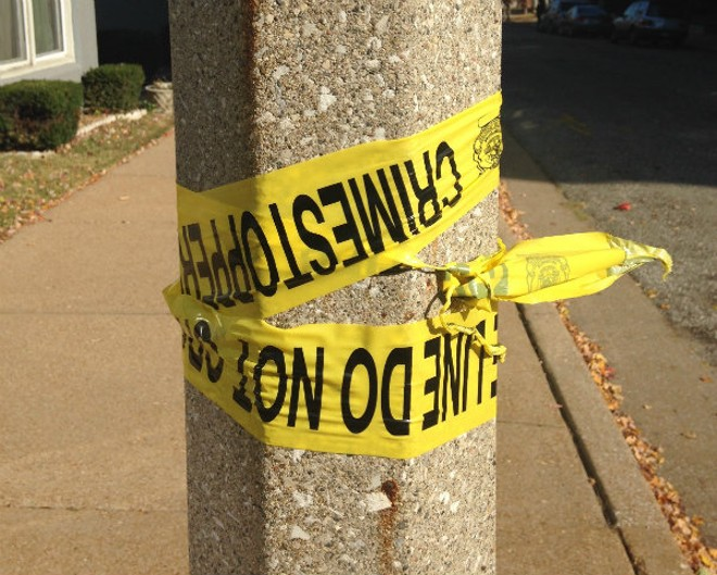 Police are investigating a double homicide following a shooting on Wednesday night in South City. - DOYLE MURPHY