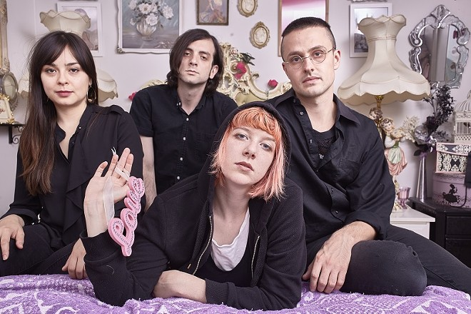Dilly Dally will perform at the Demo on Monday, November 9. - PHOTO BY POONEH GHANA